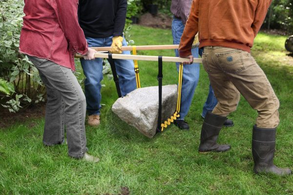 Lifting a large rock with a Prolifter